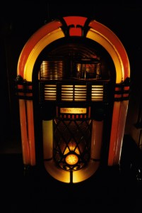 Illuminated jukebox